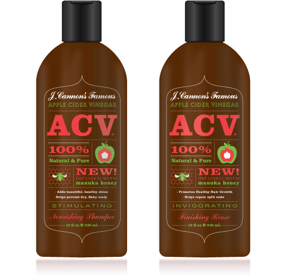 ACV Shampoo Packaging