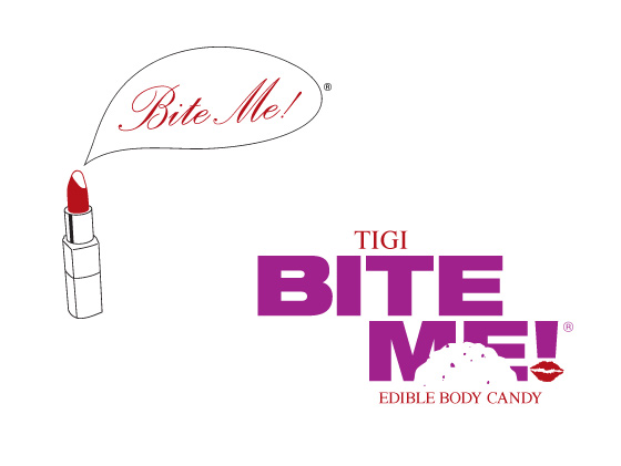 Toni & Guy Bite Me Logo