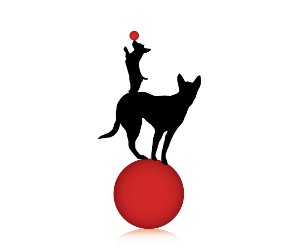 On The Ball K9 Logo